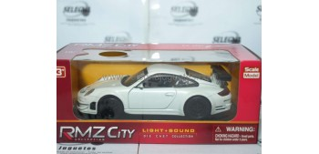 Porsche 911 blanco 1/32 RMZ COCHE A ESCALA Coches a escala