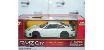 Porsche 911 blanco 1/32 RMZ Car miniatures