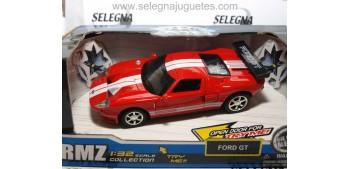FORD GT ROJO 1/32 RMZ COCHE METAL Car miniatures