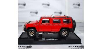 Hummer H3 rojo escala 1/32 RMZ COCHE A ESCALA