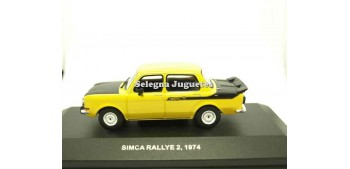 Simca Rallye 2 1974 scale 1/43 Solido Car miniatures
