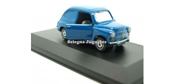 lead figure Seat 600 blue showcase 1:43 guisval