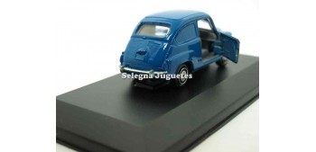 Seat 600 blue showcase 1:43 guisval