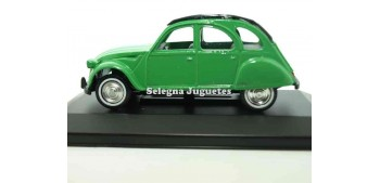 Citroen 2cv green scale 1/36 Guisval