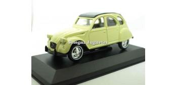 coche miniatura Citroen 2CV crema escala 1/36 Guisval