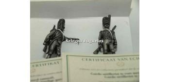 soldado plomo Artilleros 25 Gran Armada de Napoleon 1/32