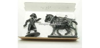 soldado plomo Caballo de tiro (3) Gran Armada de Napoleon 1/32