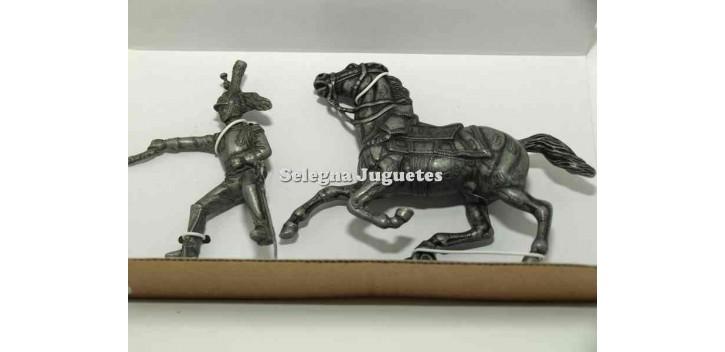 soldado plomo Caballo de coracero Gran Armada de Napoleon 1/32