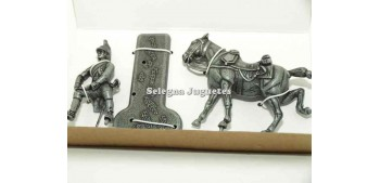 Dragon con caballoo Gran Armée de Napoleón 1/32