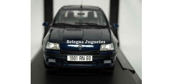 coche miniatura Renault Clio Williams escala 1/18 Norev