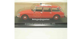 Citroen ID 20 break ambulancia de bomberos 1972