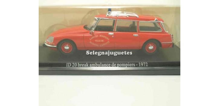 maquetas de coches Citroen ID 20 break ambulancia de bomberos