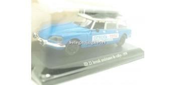 maquetas de coches Citroen ID 21 break asistencia de rallye 1970