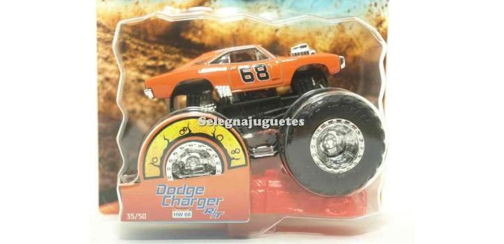 coche miniatura Monster Truck Dodge Charger R/T escala 1/64 Hot