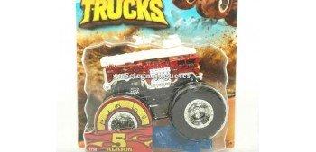 Monster Truck Alarm 5 escala 1/64 Hot wheels
