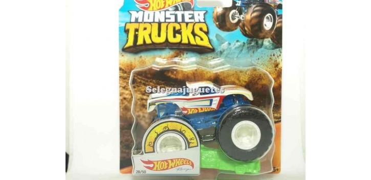 coche miniatura Monster Truck Hot Wheels escala 1/64 Hot wheels