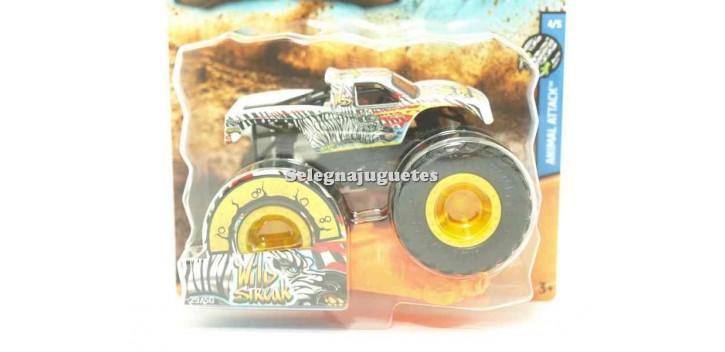 coche miniatura Monster Truck Wild Streak escala 1/64 Hot wheels