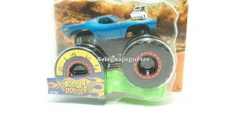 Monster Truck Rodger Dodger escala 1/64 Hot wheels