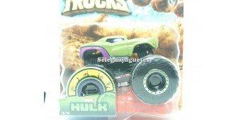Monster Truck Hulk escala 1/64 Hot wheels