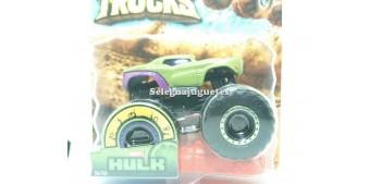 coche miniatura Monster Truck Hulk escala 1/64 Hot wheels