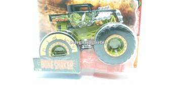 coche miniatura Monster Truck Bone Shaker escala 1/64 Hot wheels