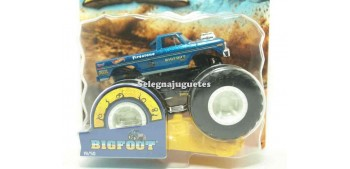 Monster Truck BigFoot escala 1/64 Hot wheels