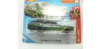miniature car Chevelle SS Wagon 70 1/64 Hot Wheels
