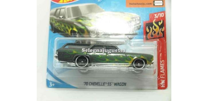 coche miniatura Chevelle SS Wagon 70 1/64 Hot Wheels