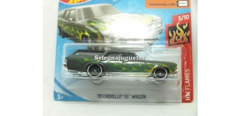 coche miniatura Chevelle SS Wagon 70 1/64 Hot Wheels