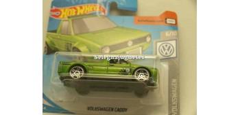 coche miniatura Volkswagen Caddy 1/64 Hot Wheels