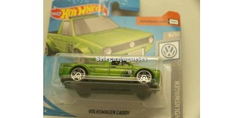 coche miniatura Volkswagen Caddy 1/64 Hot Wheels