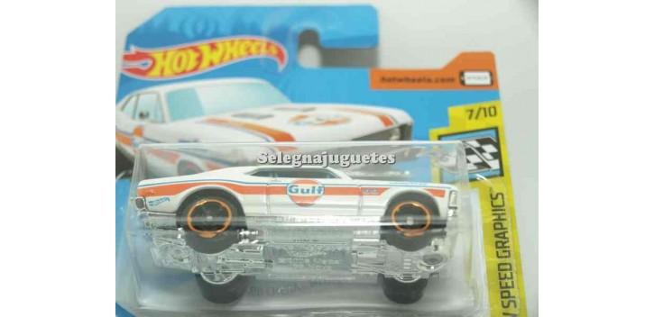 coche miniatura Chevy Nova 68 Gulf 1/64 Hot Wheels