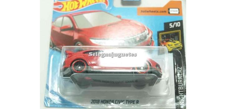 coche miniatura Honda Civic Type R 2018 1/64 Hot Wheels