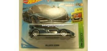 coche miniatura Maclaren Senna 1/64 Hot Wheels