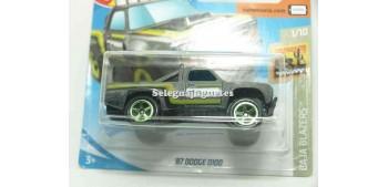 miniature car Dodge D100 87 1/64 Hot Wheels
