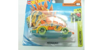 miniature car Motosaurio 1/64 Hot Wheels