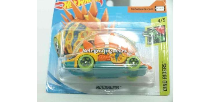 coche miniatura Motosaurio 1/64 Hot Wheels