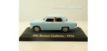 Alfa Romeo Giulietta 1956 escala 1/43 Ixo - Rba - Clásicos inolvidables coche metal miniatura Altaya