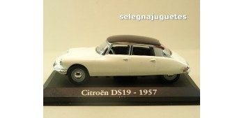 miniature car Citroen DS19 1957 escala 1/43 Ixo - Rba -