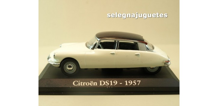 Citroen DS19 1957 escala 1/43 Ixo - Rba - Clásicos inolvidables coche metal miniatura Altaya