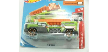 5 alarm truck 1/64 Hot Wheels