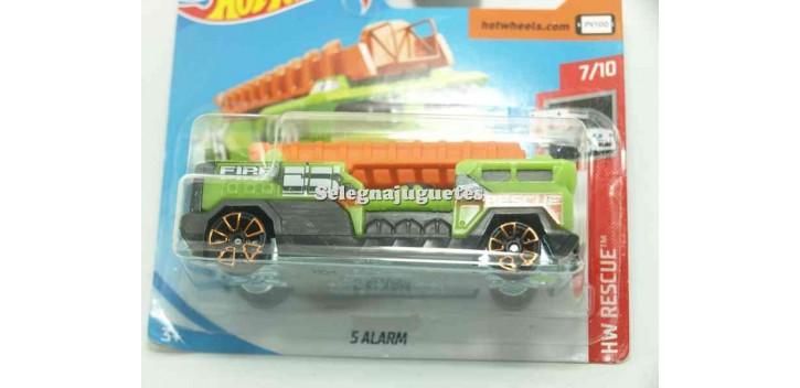 camion miniatura Camion 5 alarm 1/64 Hot Wheels