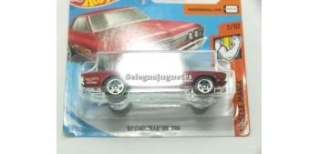 miniature car Chevelle SS 396 67 1/64 Hot Wheels