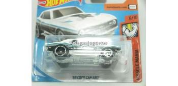 coche miniatura Copo Camaro 68 1/64 Hot Wheels