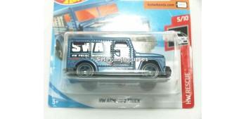miniature truck Hw Armored Truck Swat 1/64 Hot Wheels