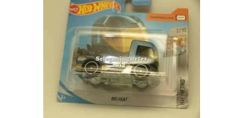 miniature truck Rig Heat 1/64 Hot Wheels