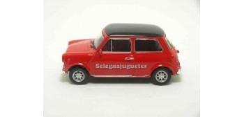 coche miniatura Mini cooper 1300 rojo escala 1/43 Welly