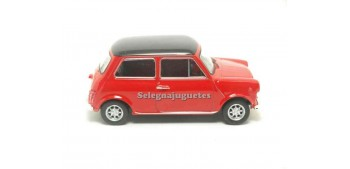 coche miniatura Mini cooper 1300 rojo escala 1/43 Welly