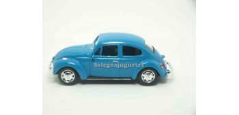 Volkswagen Beetle azul escala 1/43 Welly