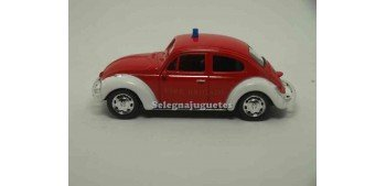 Volkswagen Beetle Bomberos escala 1/43 Welly